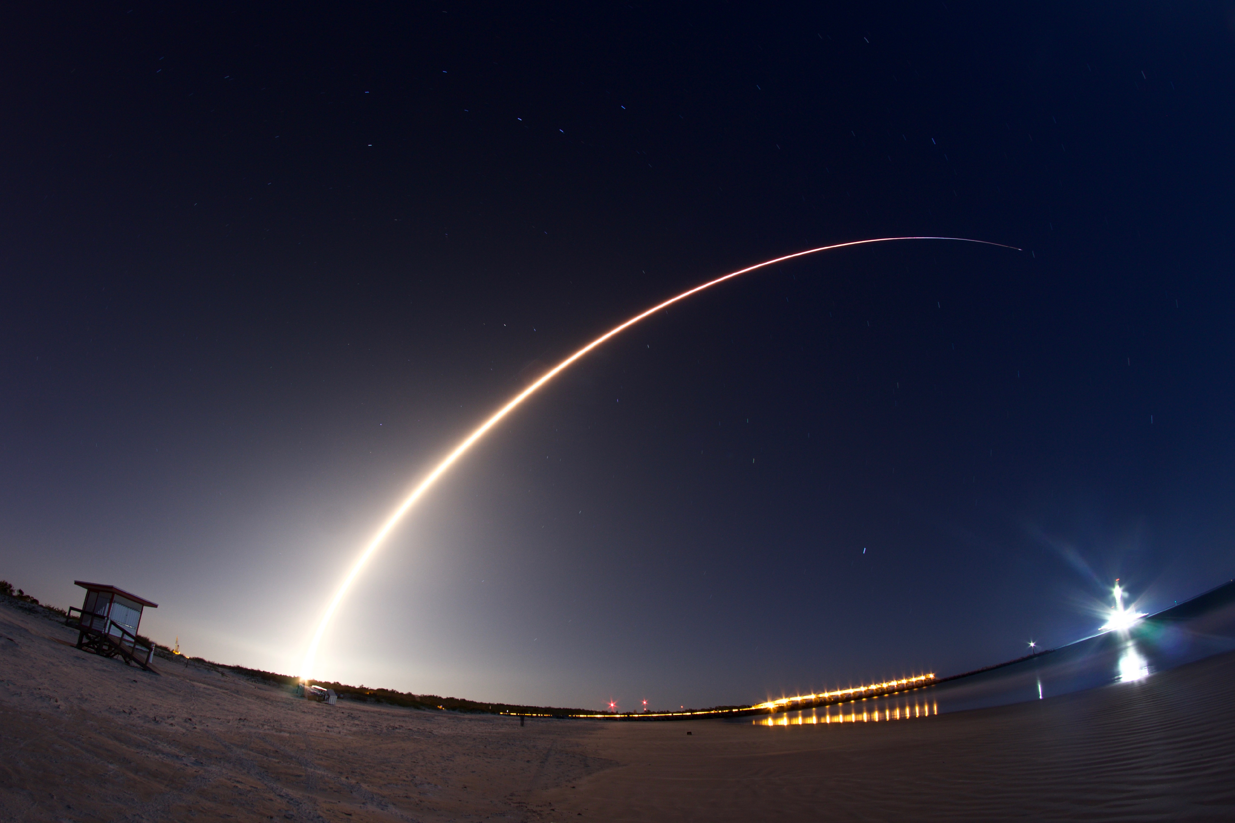 Rocket Launch Viewing Sites Titusville Space Coast Launches
